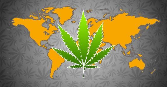 Marihuana rekreacyjna na świecie