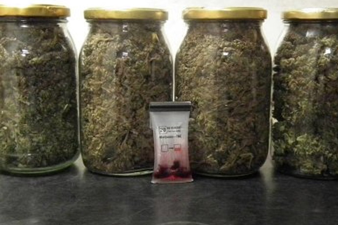 marihuana w stodole i w domu