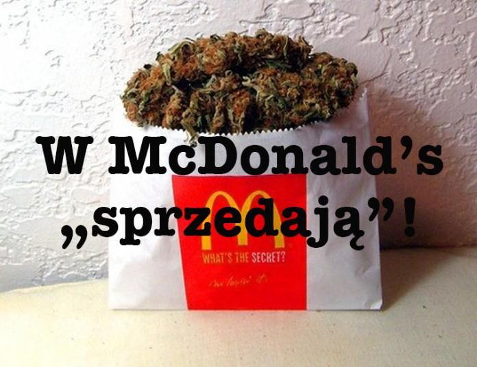 marihuana w mc donalds