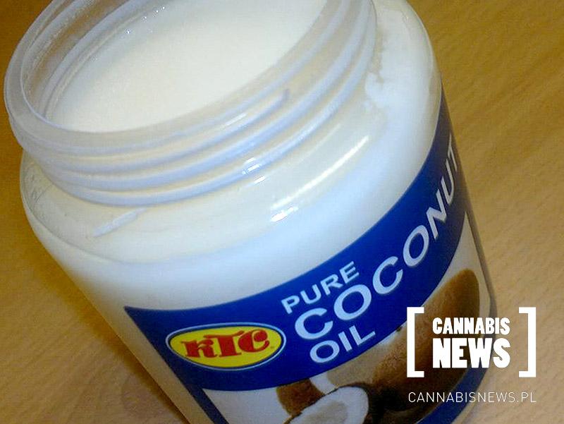 olej kokosowy z thc