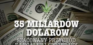 35 miliardów dol przychodu z legalizacji