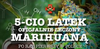 Oficjalna terapia marihuaną w Polsce