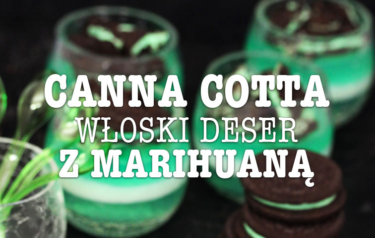 Panna Cotta z THC