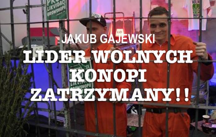 jakub gajewski aresztowany