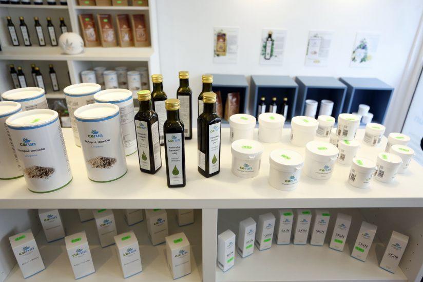 Produkty w konopnej farmacji