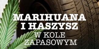 Narkotyki w kole zapasowym