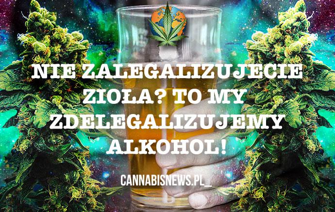 USA: Politycy walczący o legalizację zioła chcą zakazać alkoholu