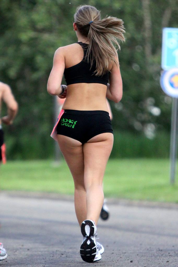 Marihuana a jogging