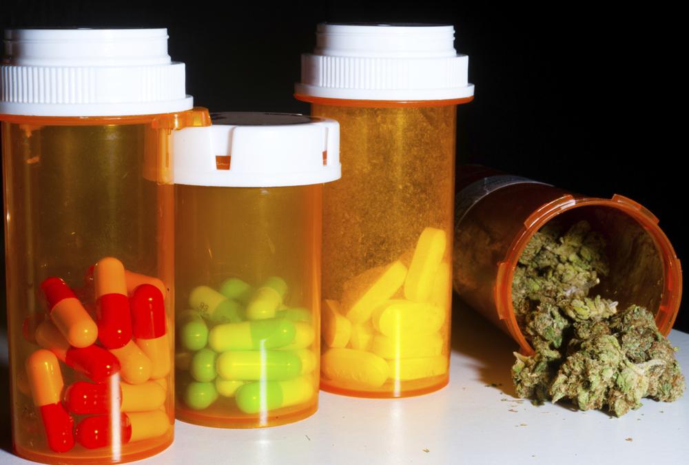 leki farmaceutyczne a marihuana