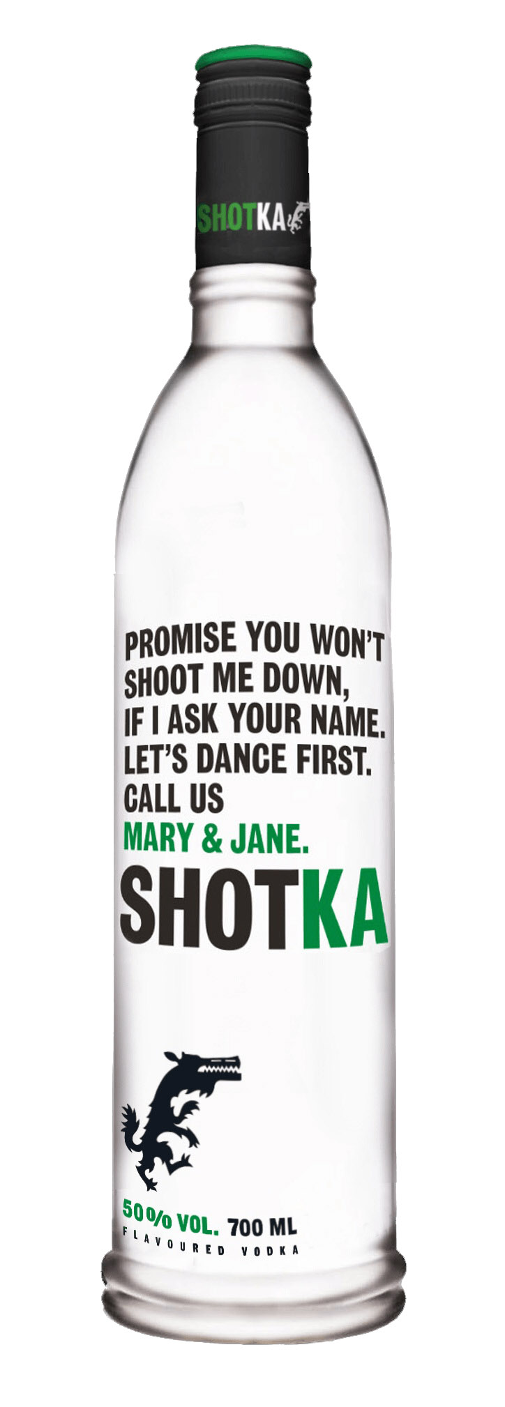 Shotka konopna wódka