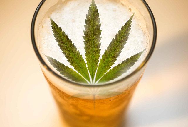 marihuana a piwo