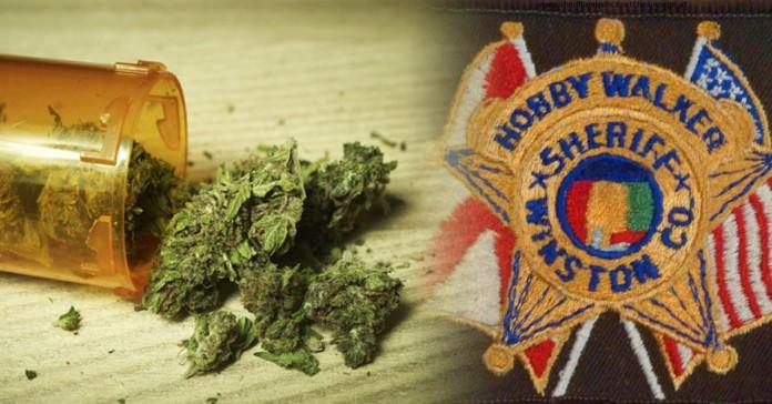szeryf z Alabamy kradnie marihuanę dla chorej na raka ciotki
