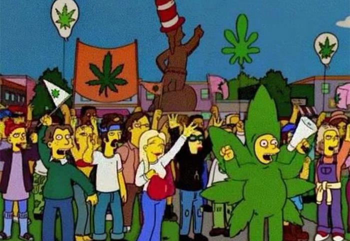 simpsonowie a legalizacja