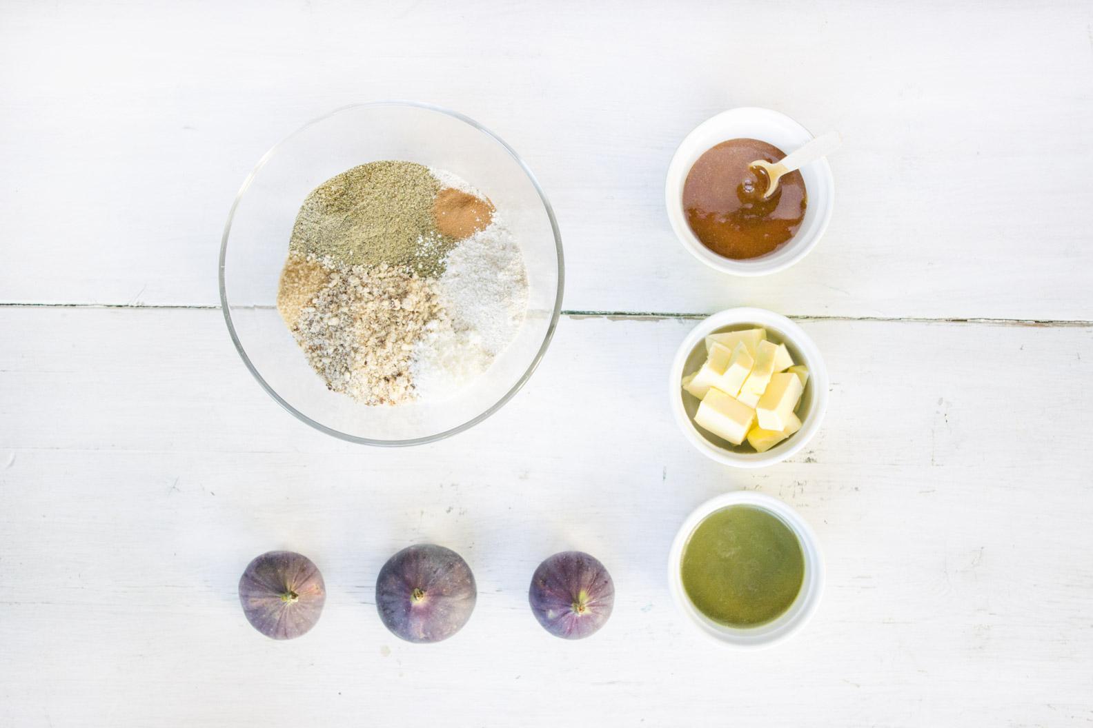 Ciastka konopne - składniki