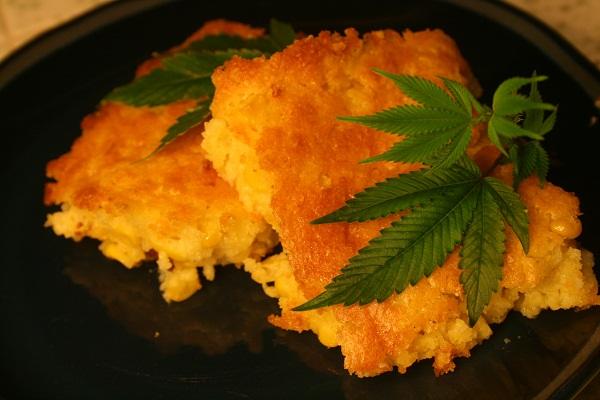 jedzenie marihuany
