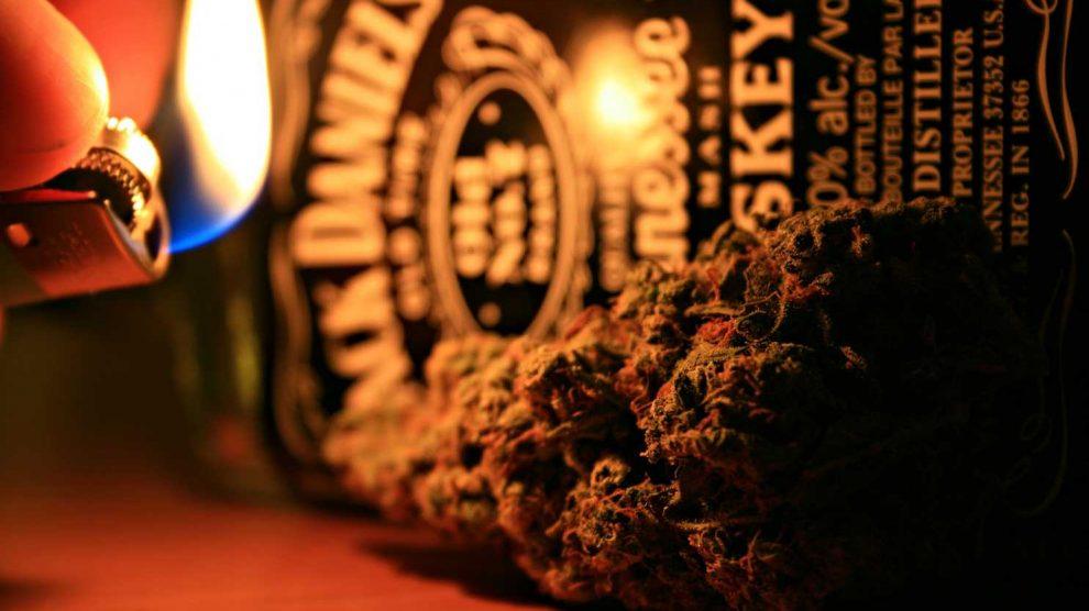 marihuana alkohol