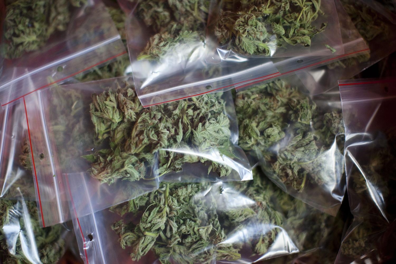 Marihuana pakowana w słoiki