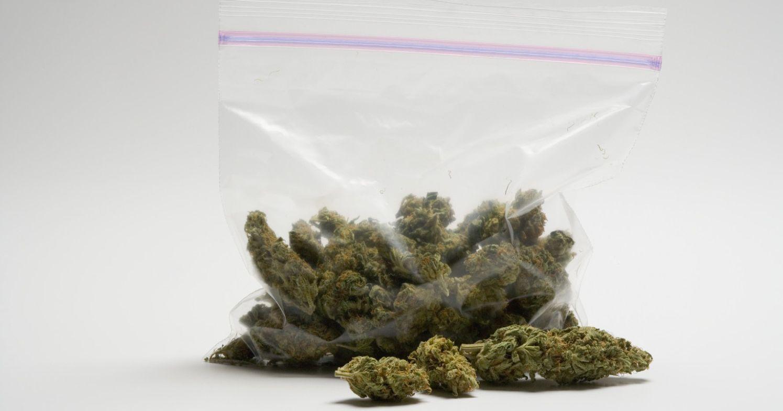 Woreczek z marihuaną