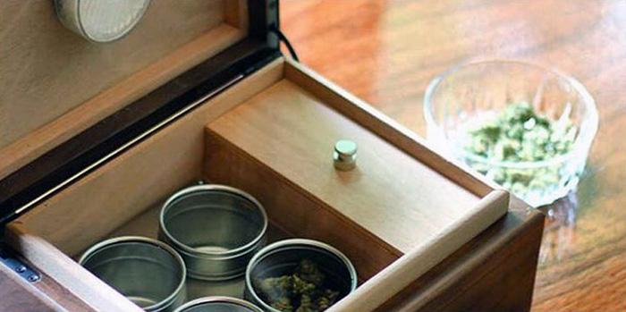 przechowywanie marihuany