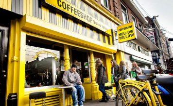 Mellow Yellow w Amsterdamie zamkniękty