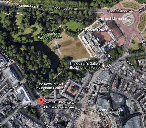 Ogromna plantacja marihuany przy pałacu Buckingham