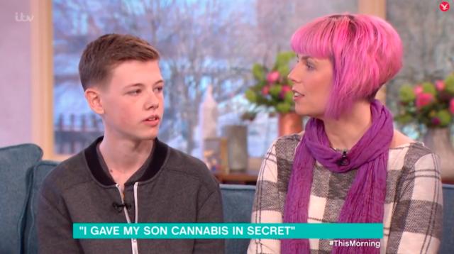Marihuaną wyleczyła białaczkę syna