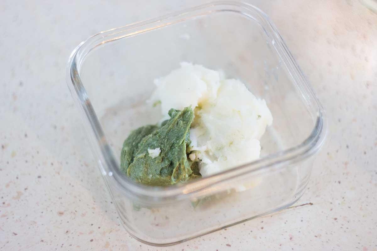 Hemp butter i olej kokosowy