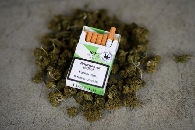 Papierosy z marihuaną Heimat