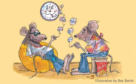 myszy zjadły pół tony marihuany