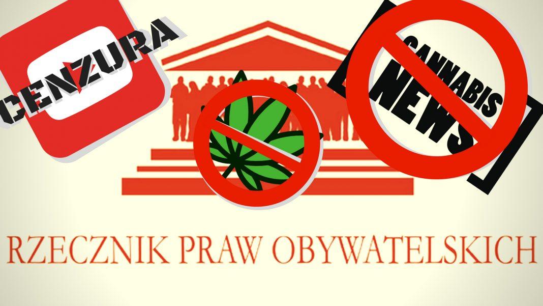 List otwarty do rzecznika praw obywatelskich. Cenzura Youtube cannabisnews
