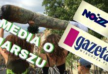 media o marszu wyzwolenia konopi 2018 - gazeta wyborcza oraz noizz.pl relacja