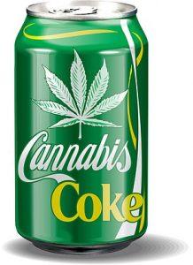 Coc-Cola chce produkowac napój konopny z zawartością CBD.