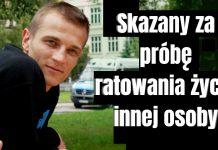 Jakub Marcin Gajewski został przed chwilą skazany na 2 lata pozbawienia wolności w zawieszeniu na 4 lata. Sprowadzał olej RSO aby ratować chorych
