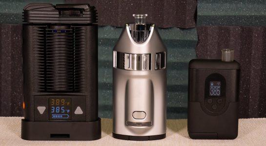 Waporyzatory ARGO, MV1 i Mighty - najlepsze przenośne waporyzatory?
