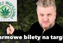 Darmowe bilety na Targi konopne Cannabizz 2018 w Warszawie