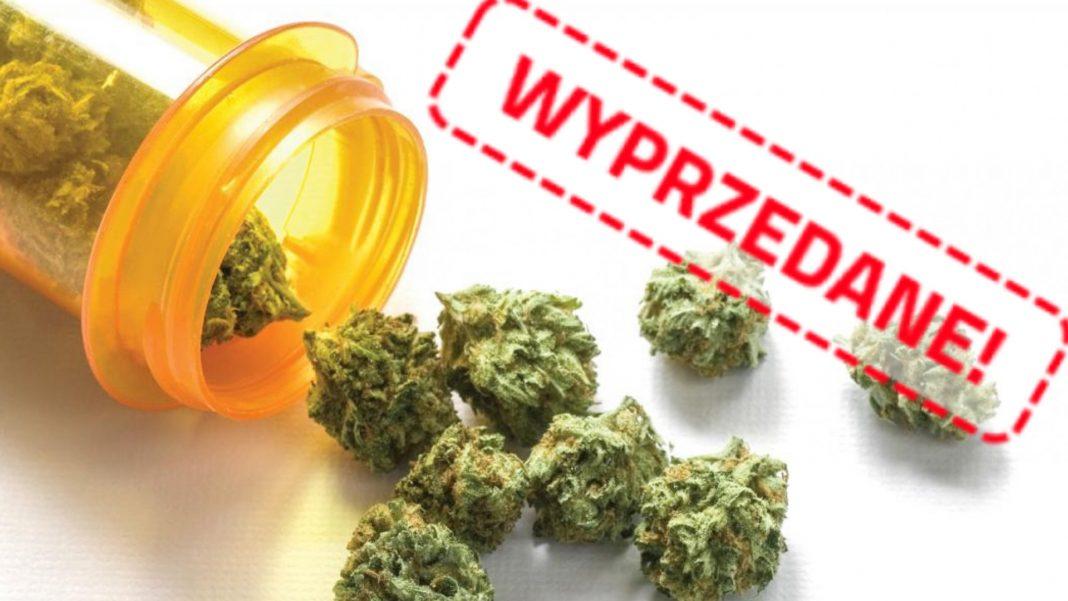Marihuana medyczna trafiła do aptek na początku roku. 7 kg suszu zostało wyprzedane w zaledwie kilka dni. Co dalej?