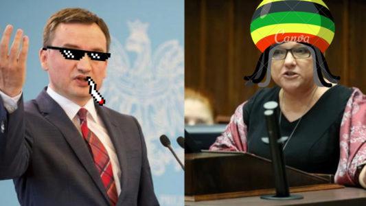Ziobro i Kępa - jedyni posłowie przeciwni medycznej marihuanie.