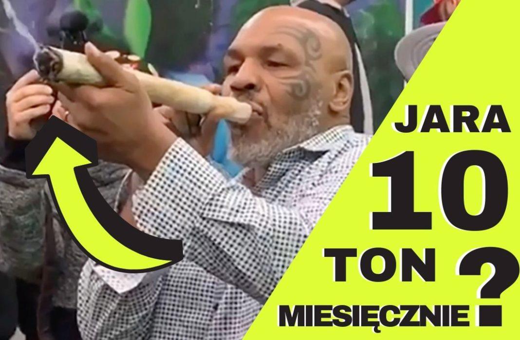 Mike Tyson w wywiadzie powiedzial ze pali 10 ton marihuany miesiecznie
