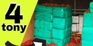 Z Meksyku do USA przemycano 11 ton marihuany w papryczkach jalapeno.