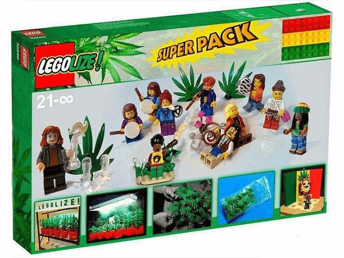 LEGO do roku 2030 ma być produkowane z konopi.