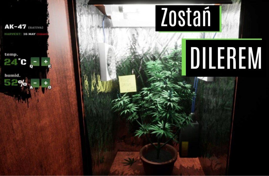 Gra , w której wcielasz sie w postac dilera narkotykowego. Drug Dealer Simulator juz w grudniu!