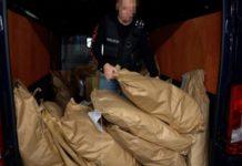 77 kg narkotyków spłonęło w policyjnym piecu