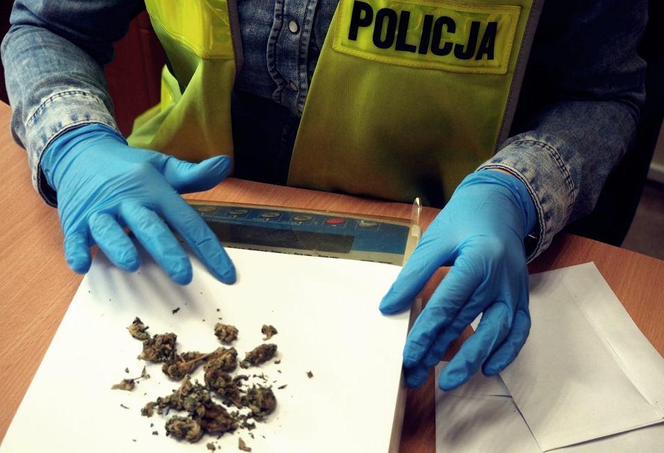 Miał przy sobie 50 gramów marihuany. Jednak gdy został zatrzymany i przeszukany przez policjantów próbował ich udobruchać 40 gramami konopi i specjalną premią wysokości 10 tys. zł. Incydent miał miejsce w Krakowie.