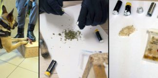 Marihuana i kryształ ukryte w bateriach - przesyłka do osadzonego w Zakładzie Karnym w Głubczycach
