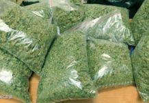 Miał przy sobie 220 gramów marihuany, haszyszu i amfetaminy. Jednak w domu 38 latka policjanci znaleźli jeszcze 11,5 kg marihuany, 600 gramów amfetaminy, ponad kilogram grzybów halucynogennych i prawie 1,5 kg haszyszu. Tłumaczył mundurowym, że to wszystko posiada na własny użytek.
