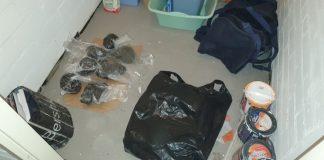 24 latka zatrzymali łódzcy policjanci z kilogramem marihuany.