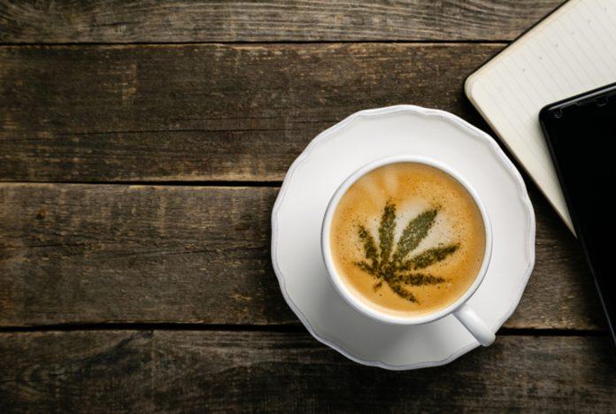 Kawa z CBD